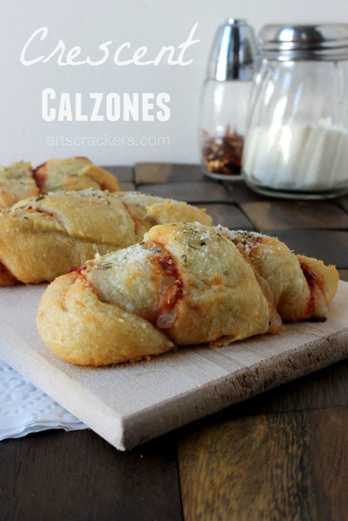 Crescent Calzones Pizza Recipe with Crescent Rolls