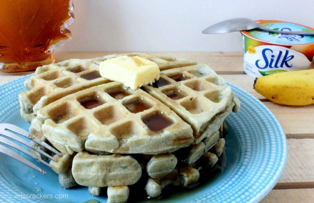 Dairy-Free Silk Yogurt Waffles