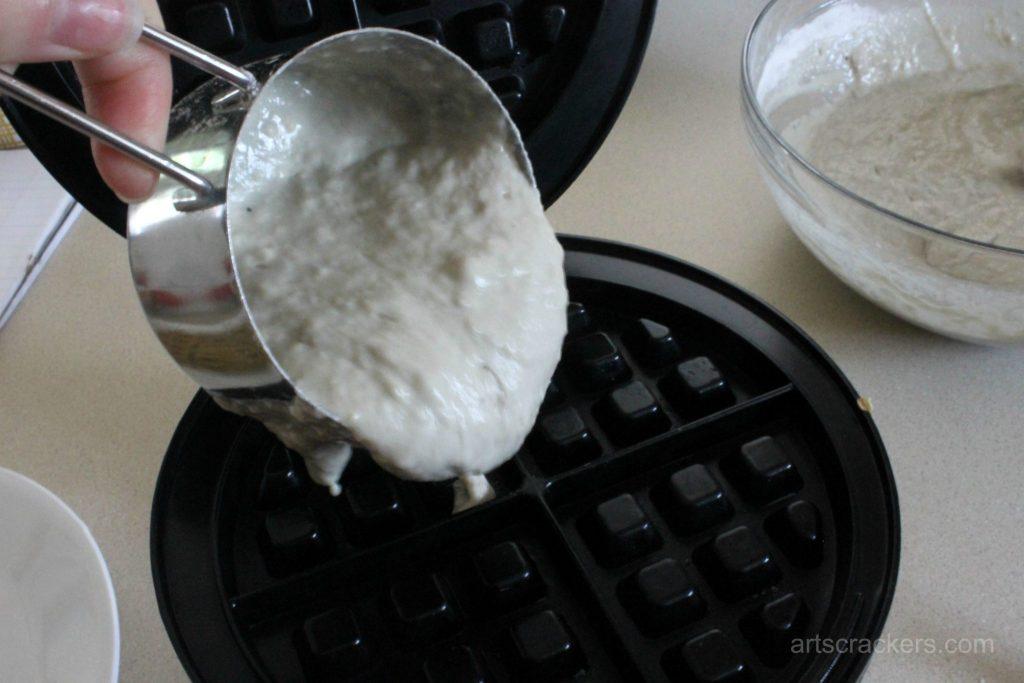 Dairy-Free Silk Yogurt Waffles Step 4