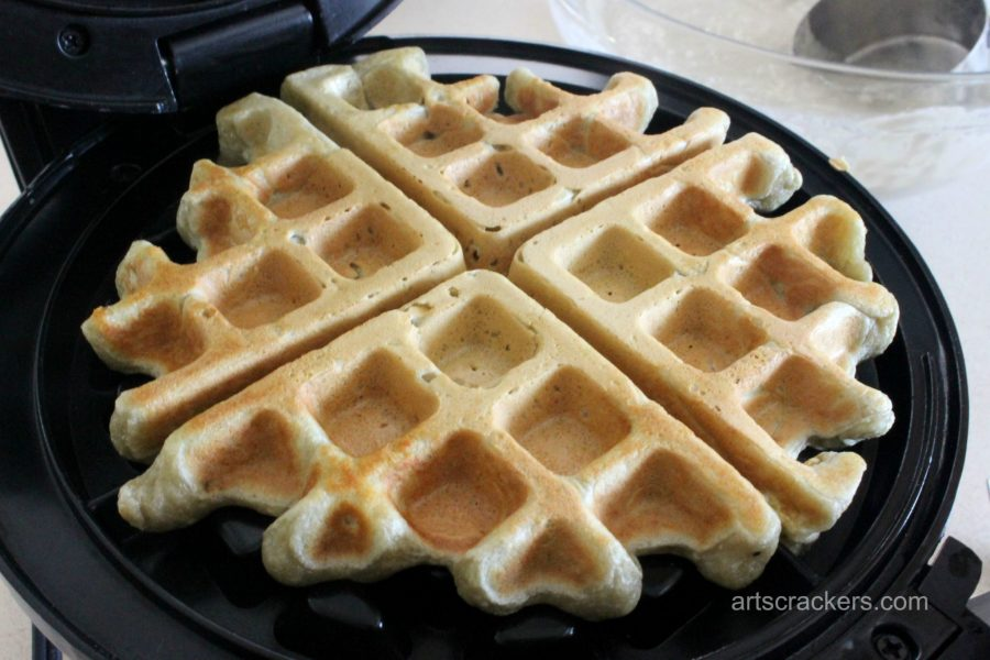 Dairy-Free Silk Yogurt Waffles Step 5