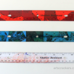 Decoupage Rulers Tutorial