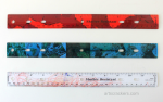 Back to School Decoupage Ruler Craft