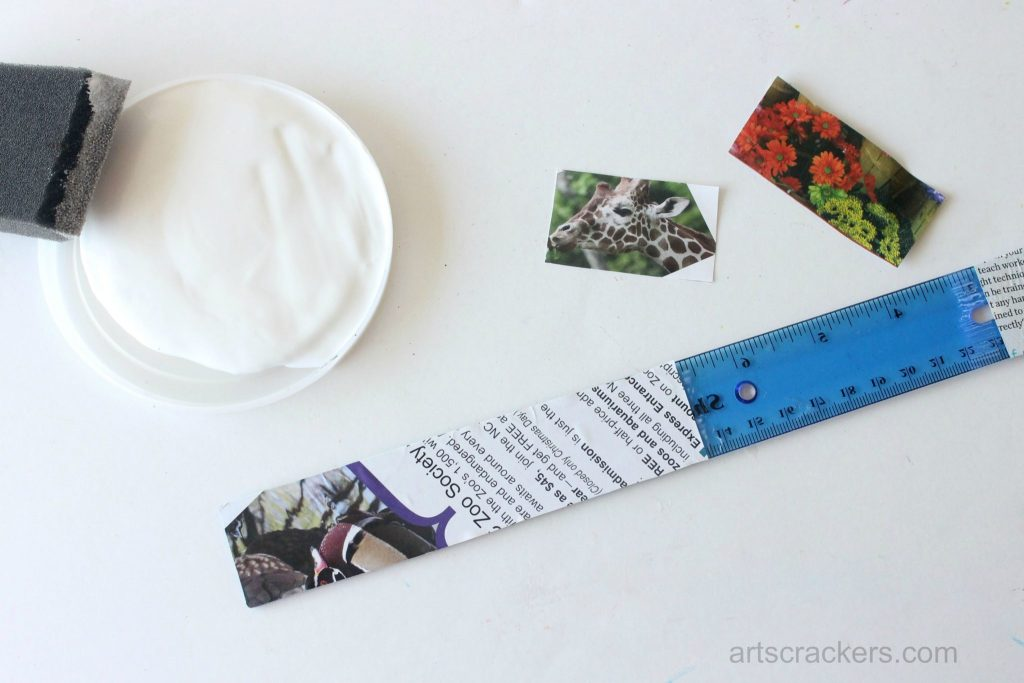 Decoupage Rulers Tutorial Step 4