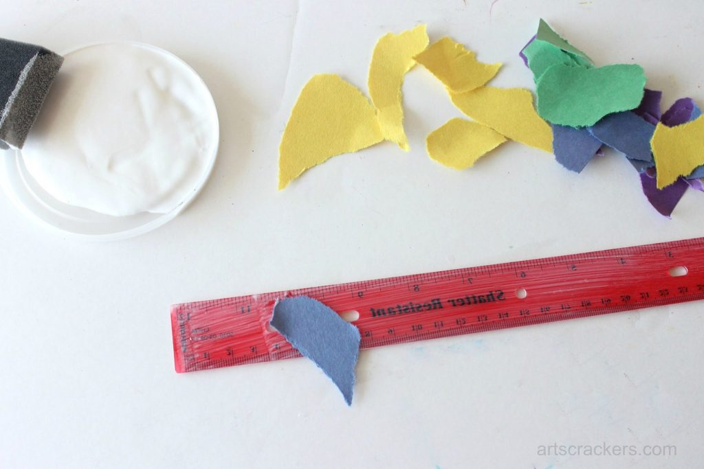 Decoupage Rulers Tutorial Step 5