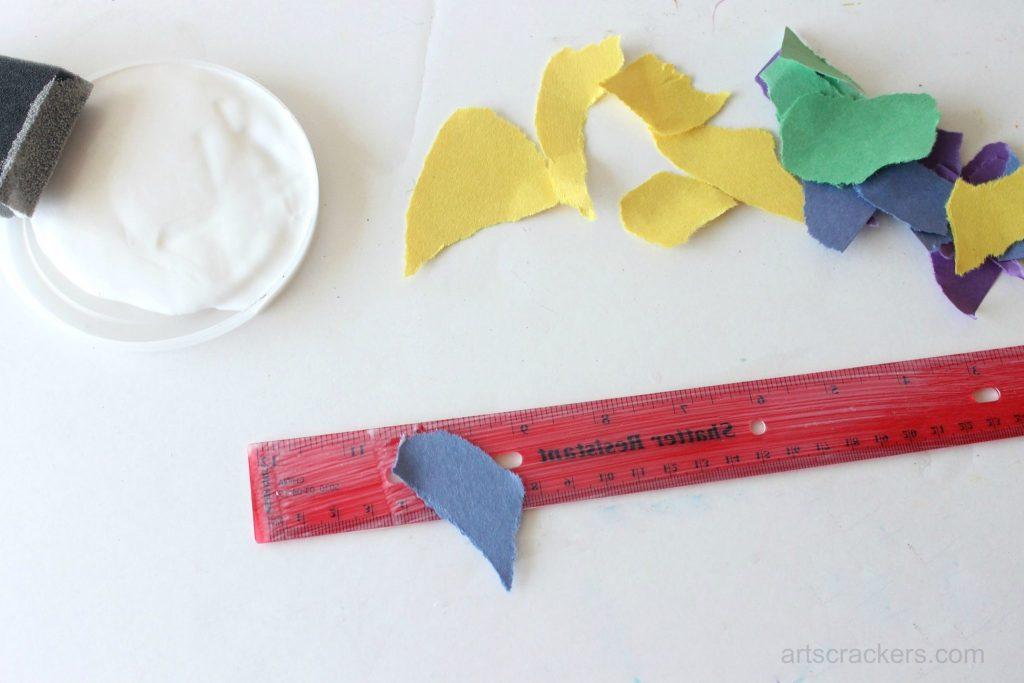 Decoupage Rulers Tutorial Step 5
