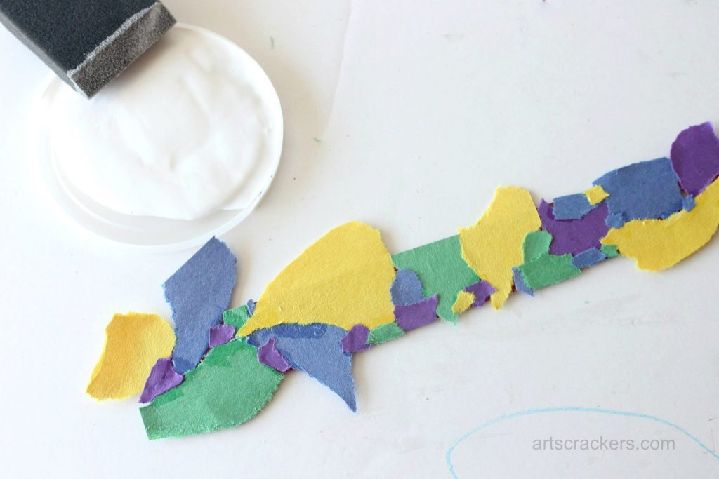 Decoupage Rulers Tutorial Step 6