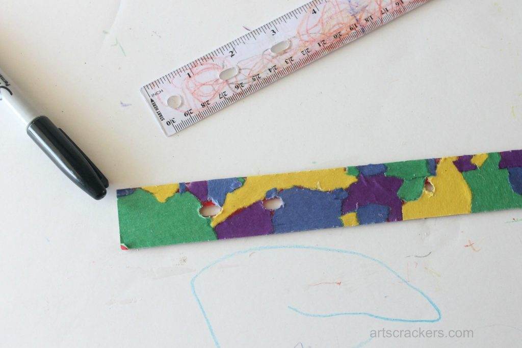 Decoupage Rulers Tutorial Step 8