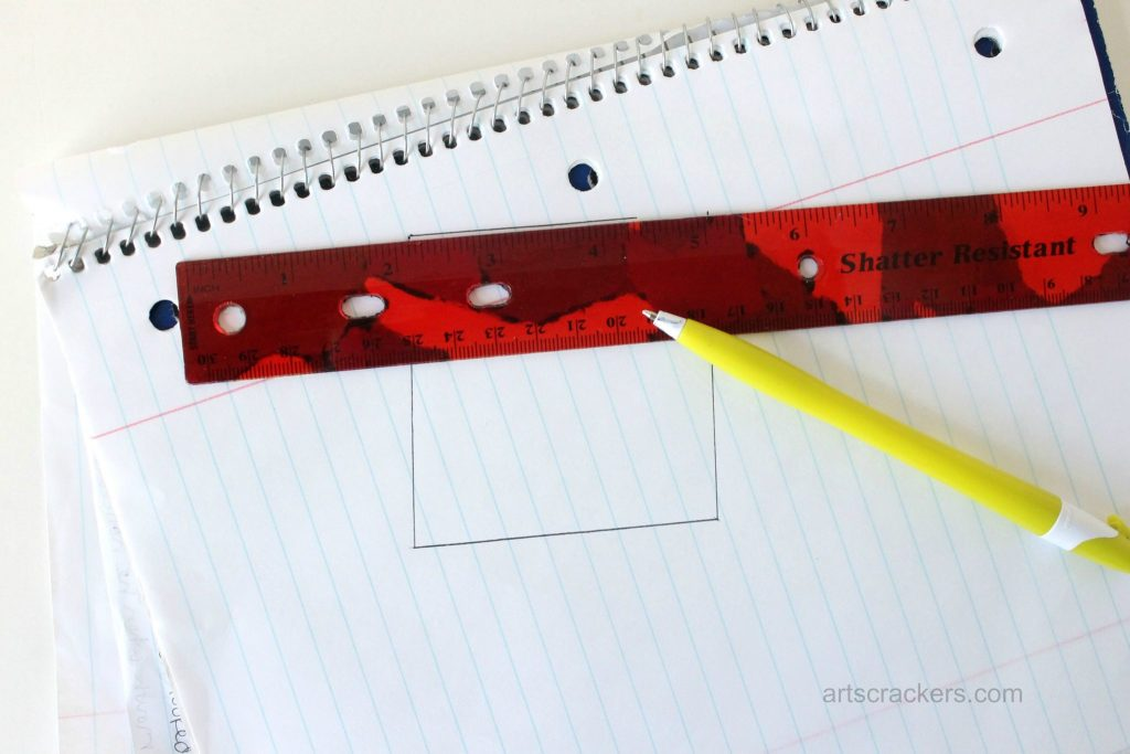 Decoupage Rulers Tutorial Straight Lines