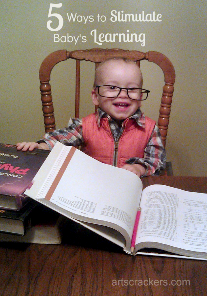 Five Ways to Stimulate Baby's Learning