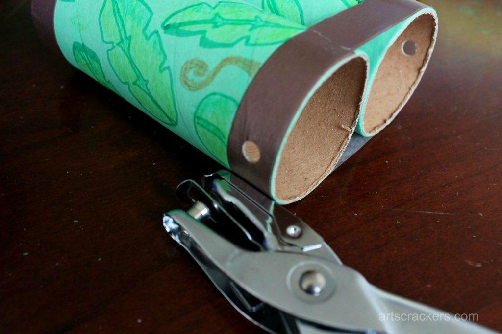 Safari Binoculars Craft Step 5
