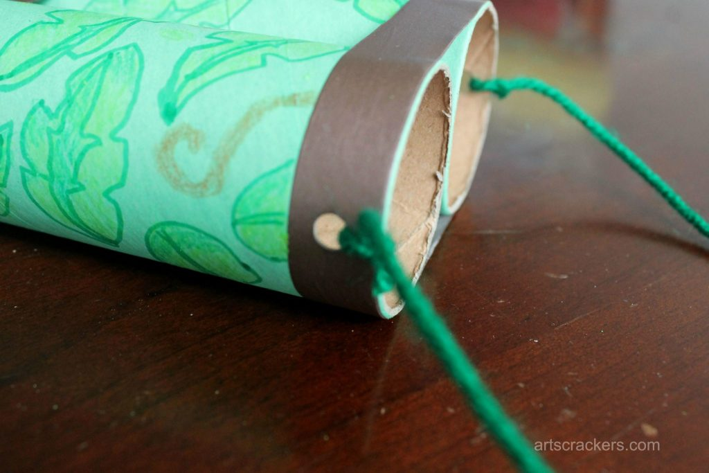 Safari Binoculars Craft Step 6