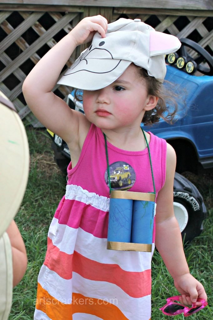 Safari Party Playdate Animal Hats