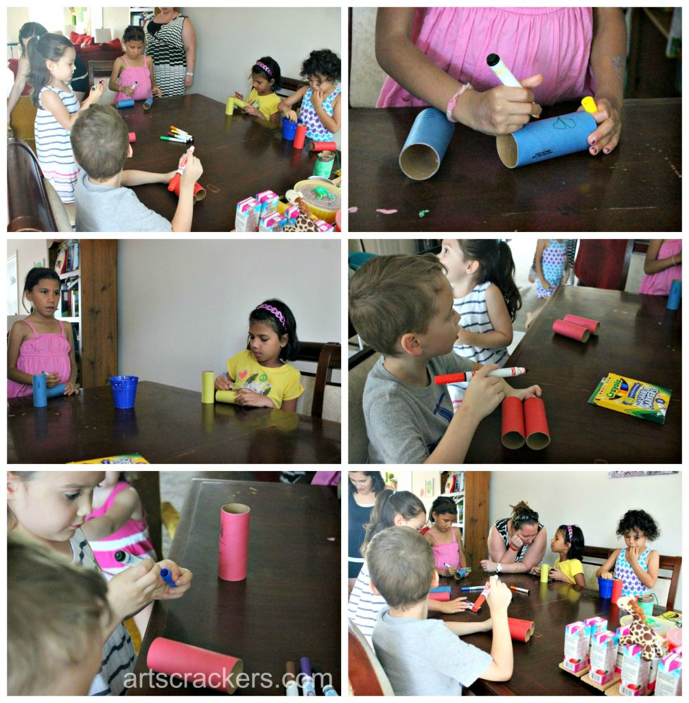 Safari Party Playdate Craft Time