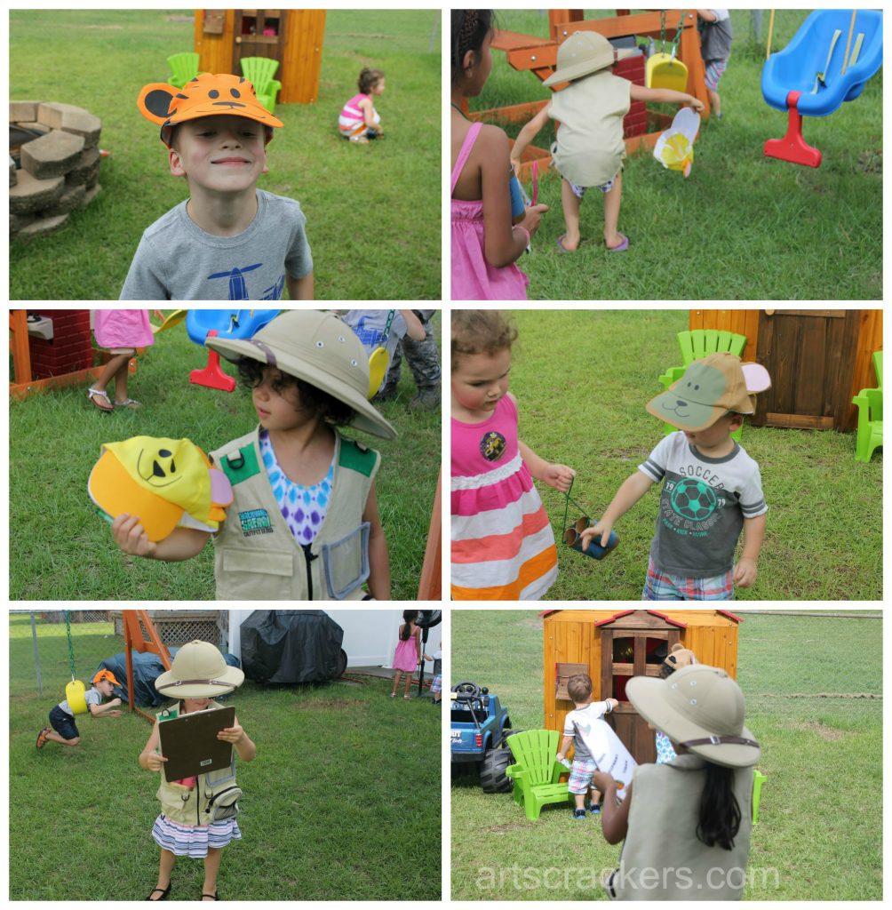 Safari Party Playdate Hide and Seek