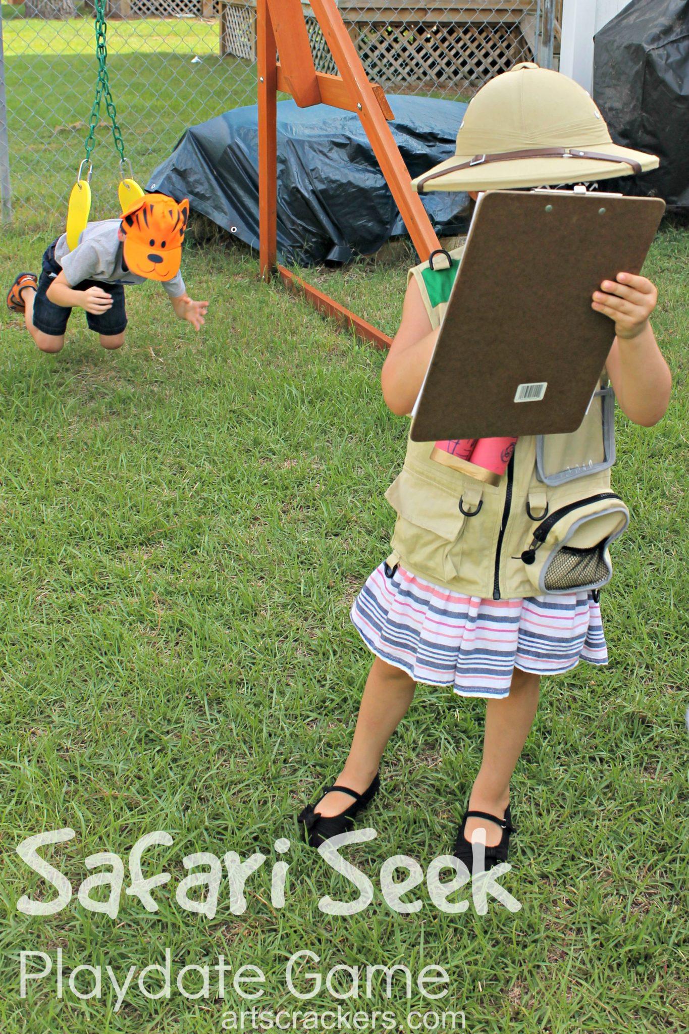 Safari Party Playdate Safari Seek