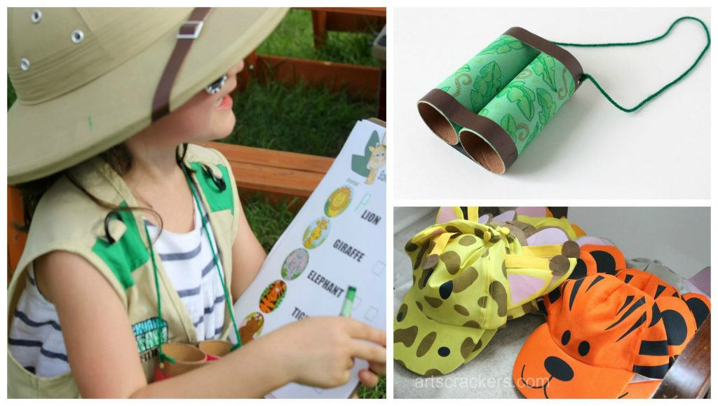 Safari Party Playdate Theme with Oriental Trading Company