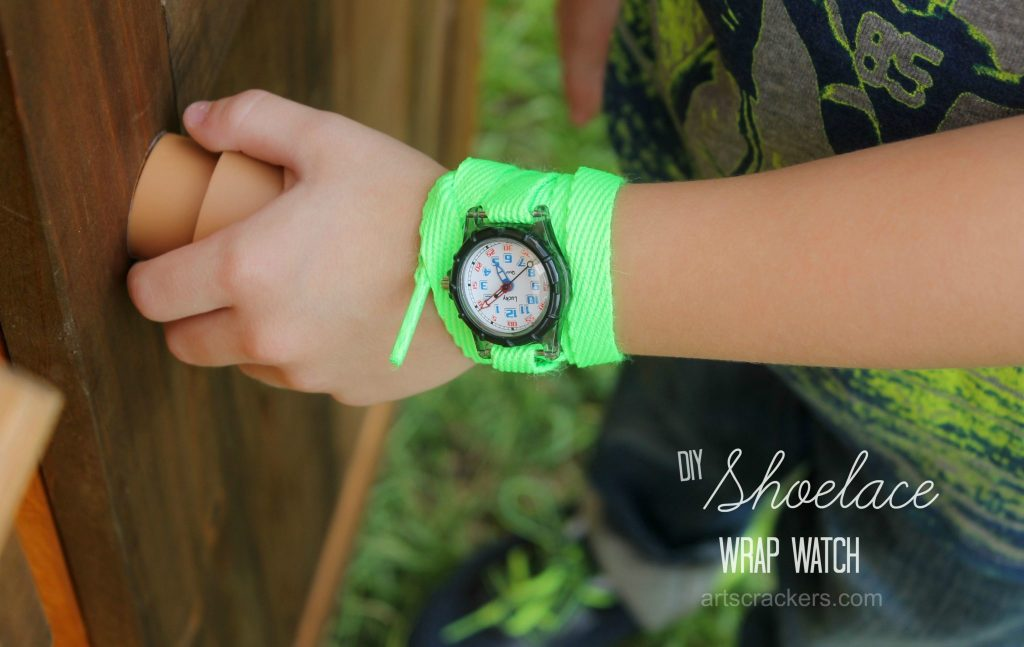 Shoelace Wrap Watch