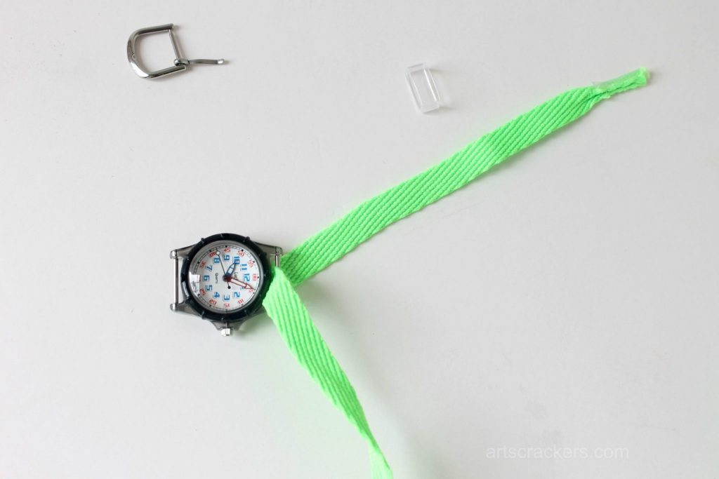 Shoelace Wrap Watch Step 3