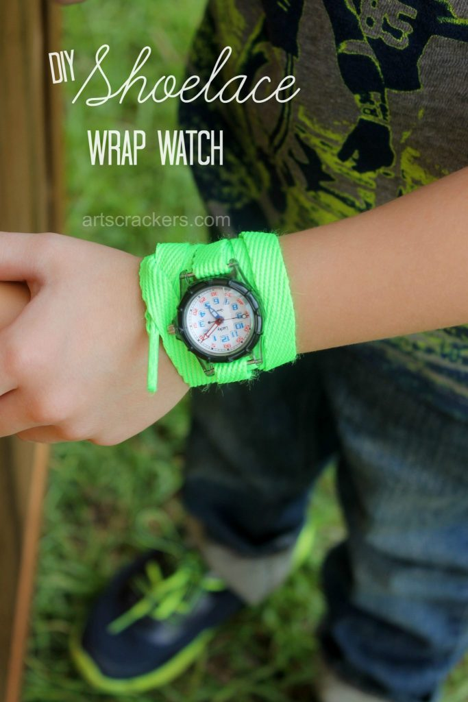 Shoelace Wrap Watch Tutorial