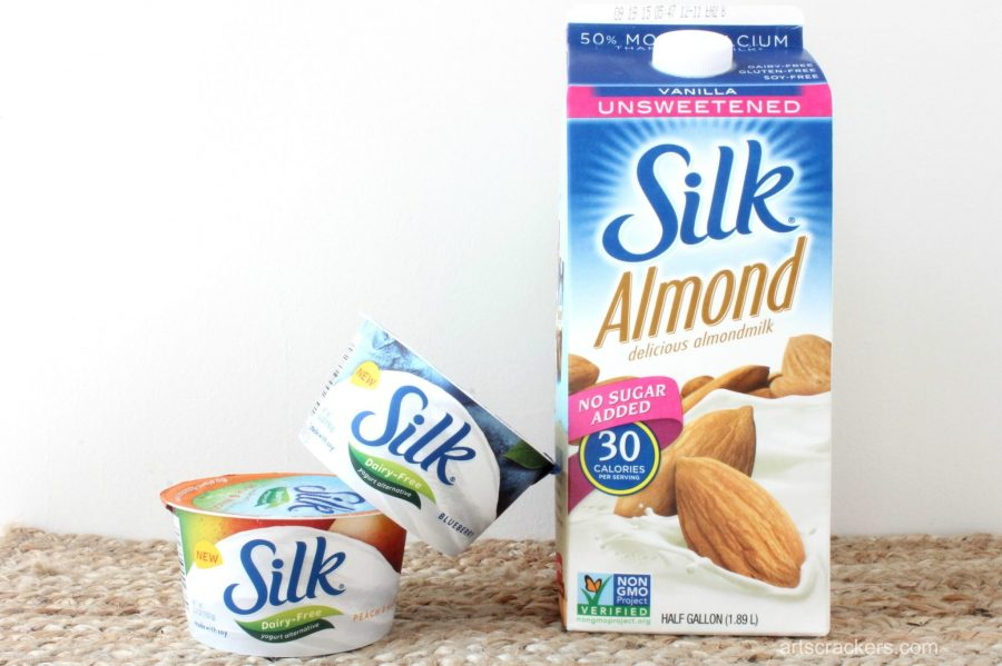 Silk Almond Milk and Dairy-Free Yogurt