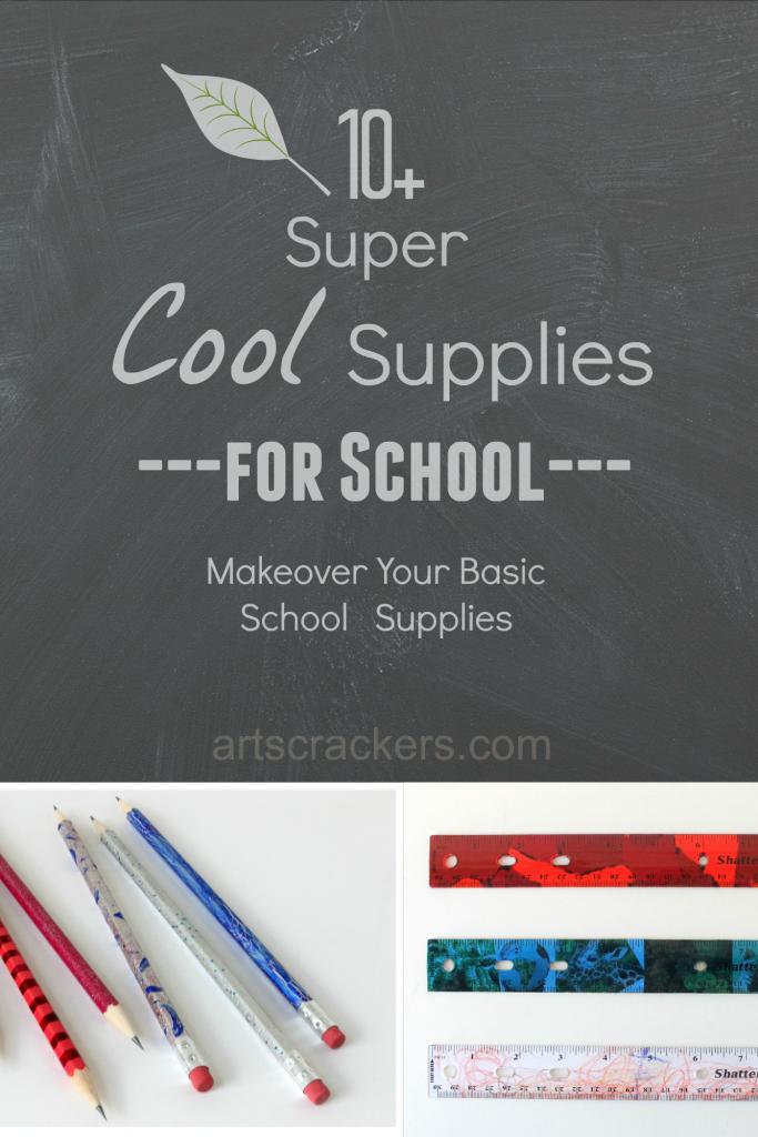 Super Cool School Supplies for School