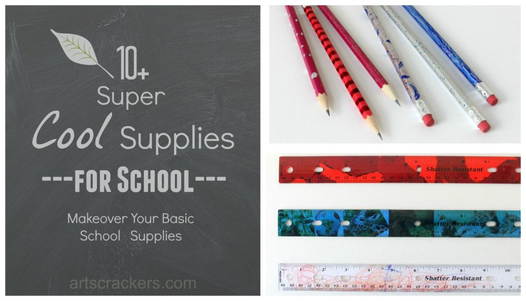 10+ Super Cool Supplies for Back to School