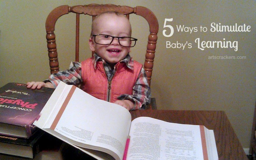 5 Ways to Stimulate Baby's Learning