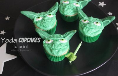 Yoda Cupcakes Tutorial