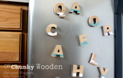 Chunky Wooden Alphabet Magnets