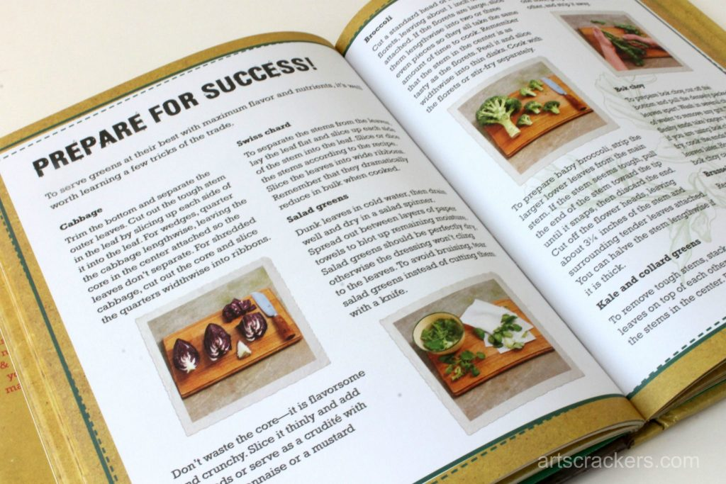 Eat Your Greens Cookbook Review Tips