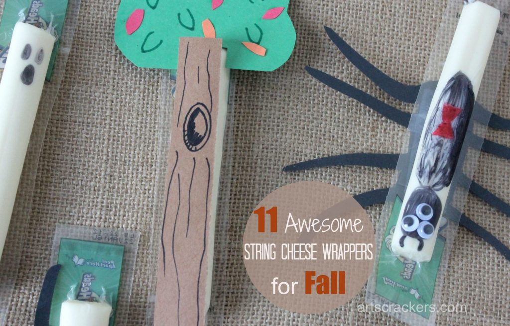 Fall String Cheese Wrappers
