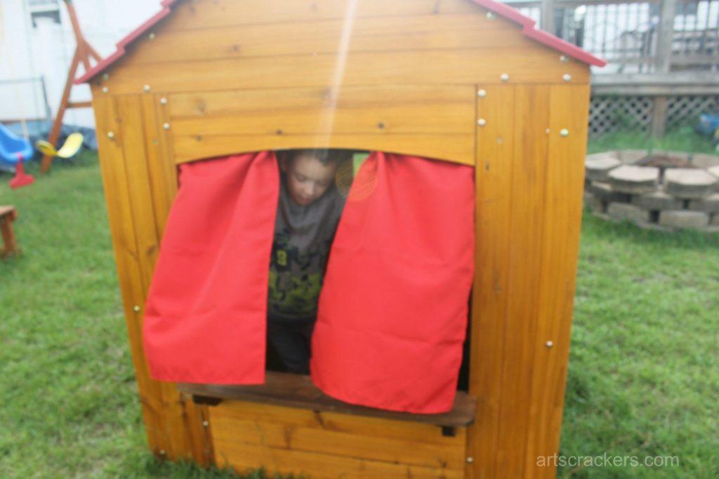 KidKraft Outdoor Playhouse Curtains