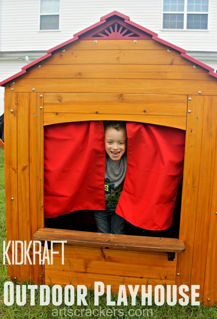 KidKraft Wooden Outdoor Playhouse