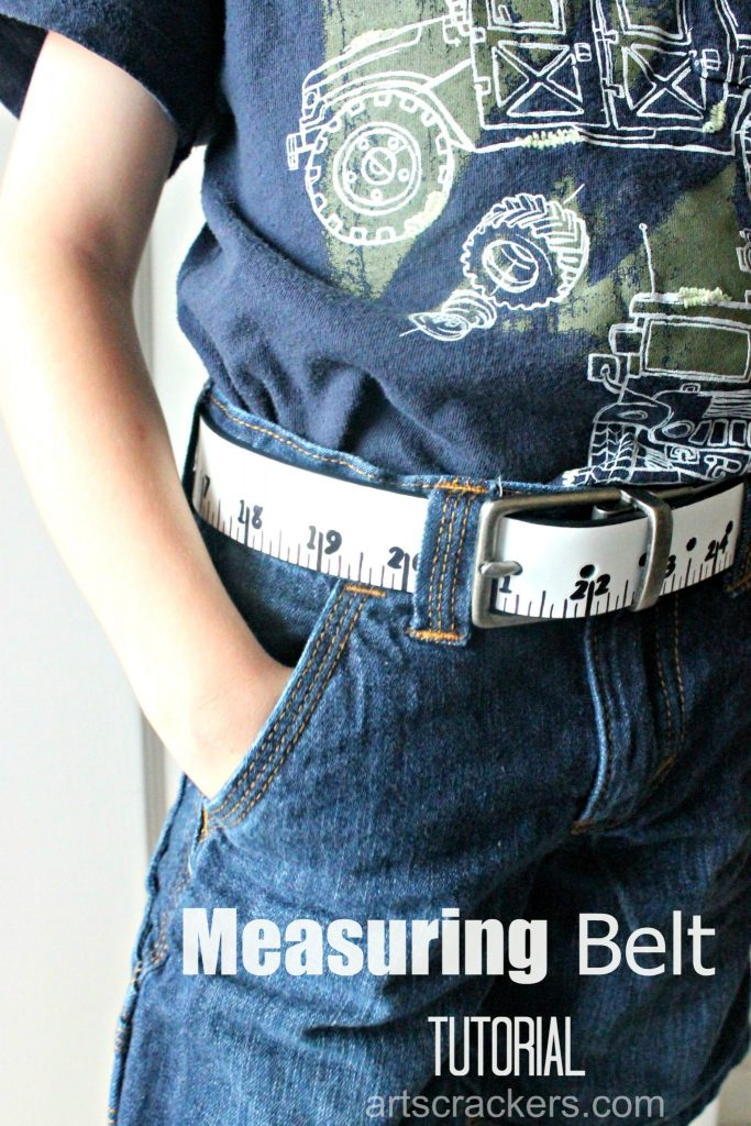 Measuring Belt Kid Fashion Tutorial
