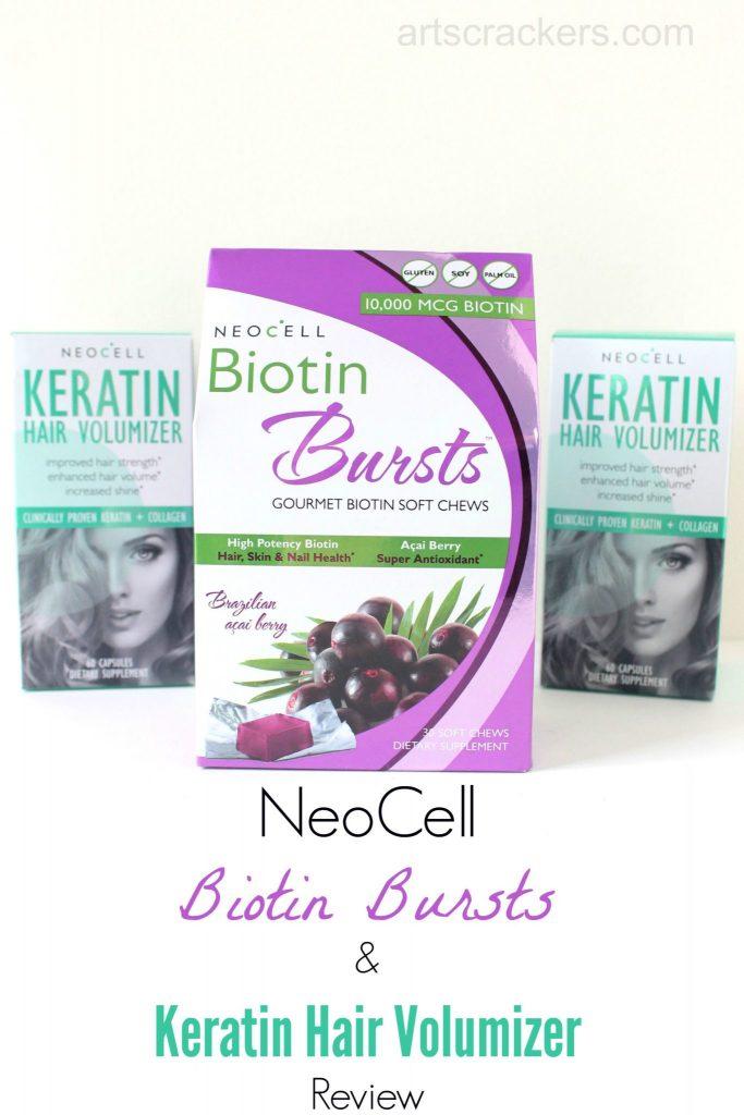 NeoCell Biotin Bursts and Keratin Review