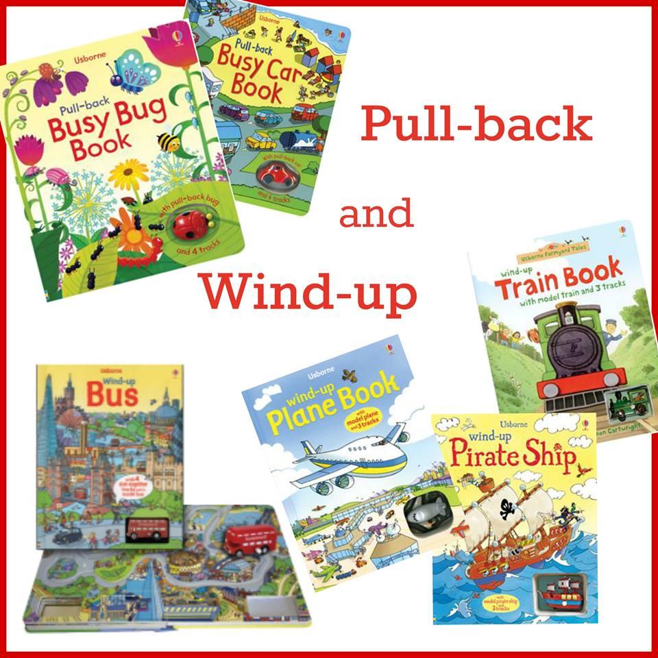 Usborne Books and More Pull Back Books