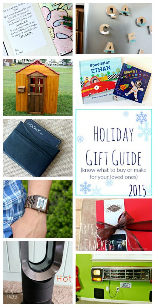 2015 Holiday Gift Guide by age
