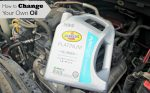 At Home Oil Change Tutorial
