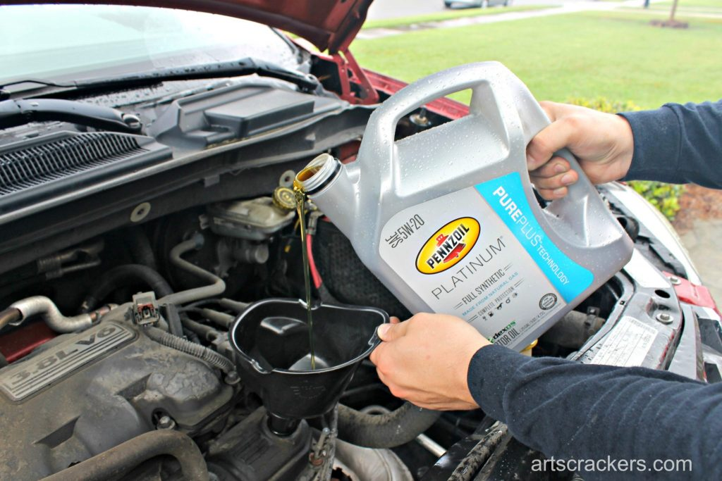 How to Change Your Own Oil Step 11