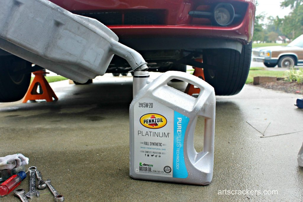 How to Change Your Own Oil Step 13