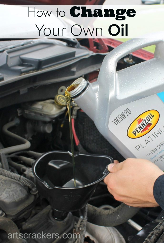 How to Change Your Own Oil Tutorial with Pennzoil