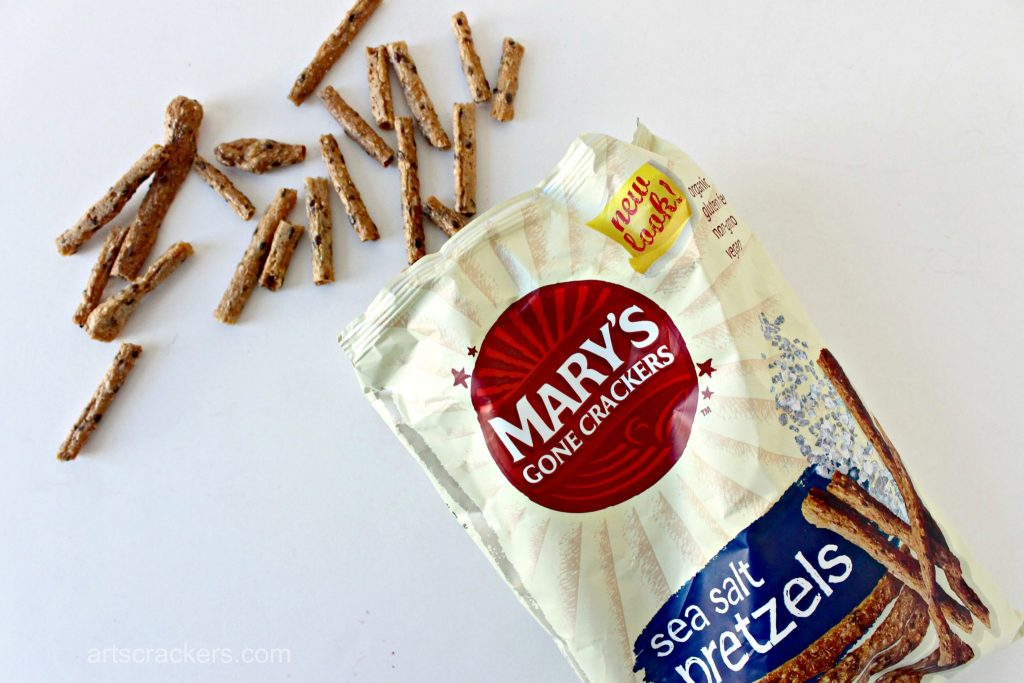 Marys Gone Crackers Sea Salt Pretzels