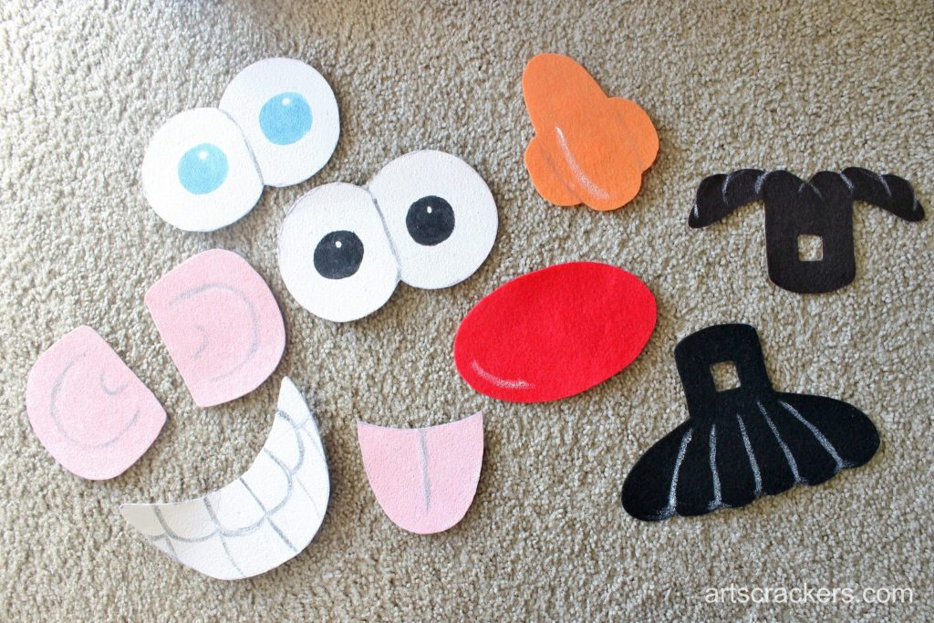 Mr. Potato Head Costume Pieces