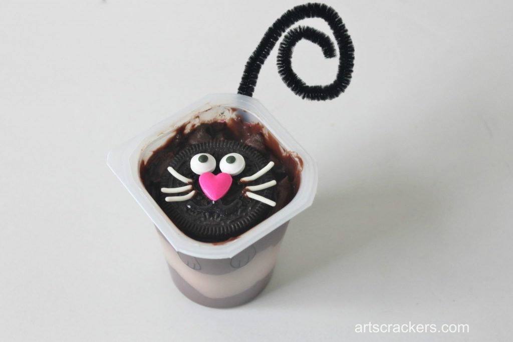 Pudding Cup Cat