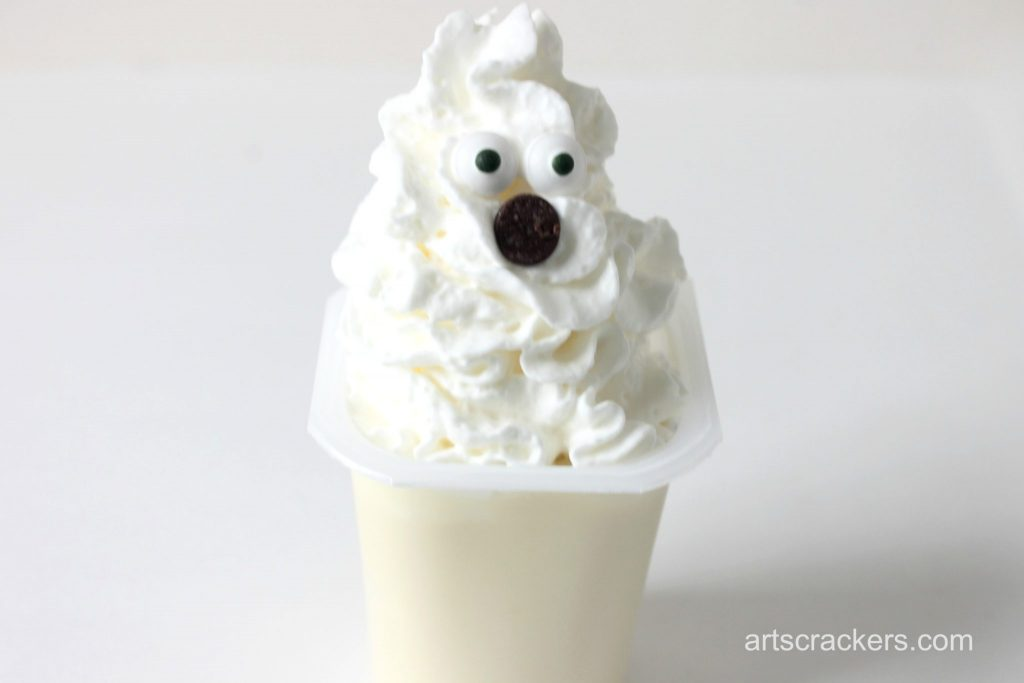 Pudding Cup Ghost