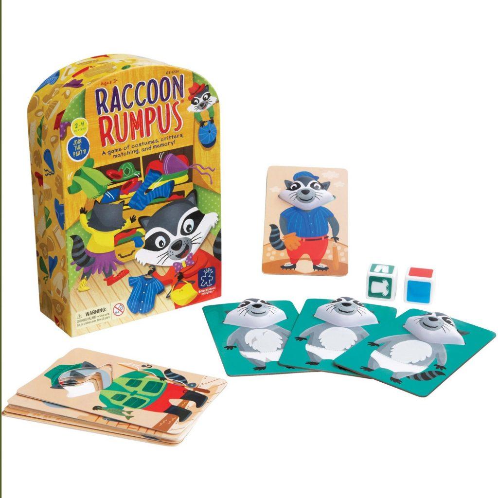 Racoon Rumpus Kids Game