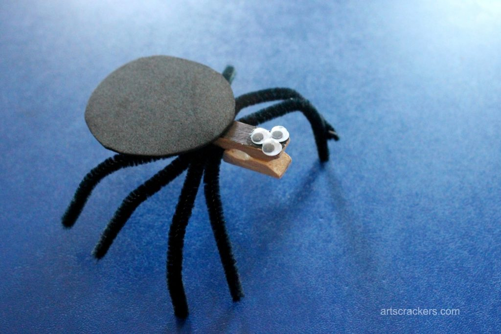 Clothespin Spider