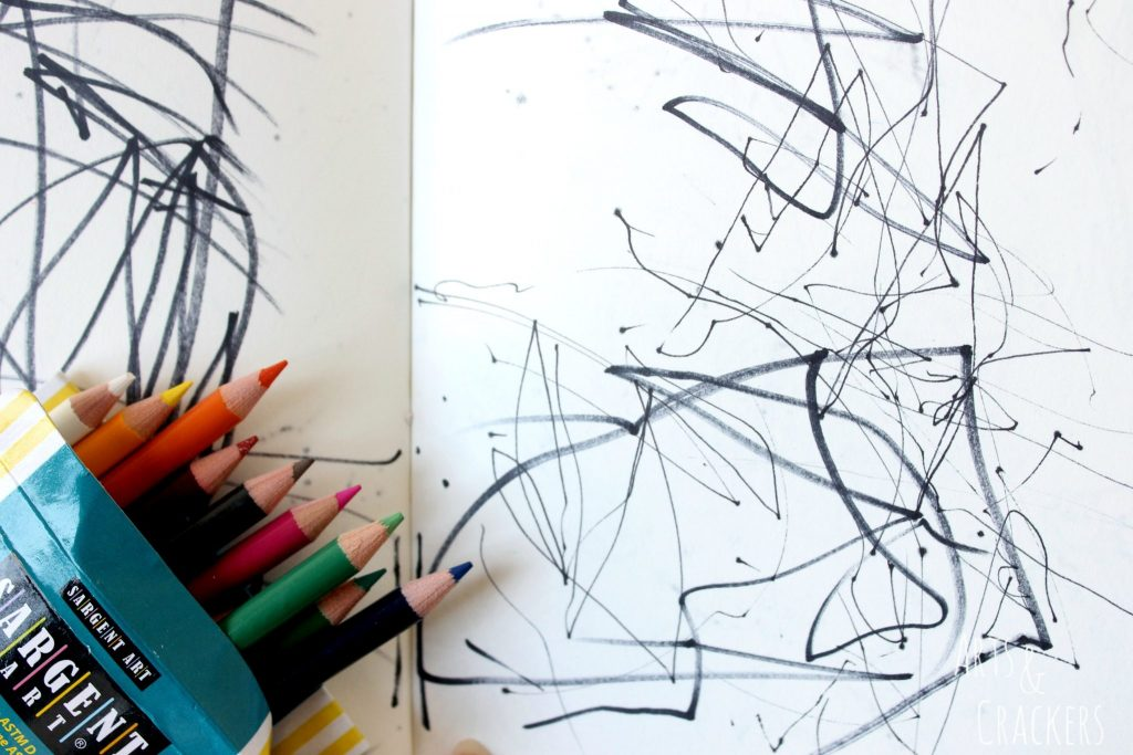 Doodle Coloring Book Toddler Drawing