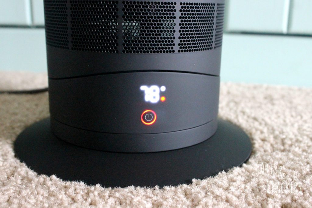 Dyson Hot and Cool Fan Heater Heat Setting