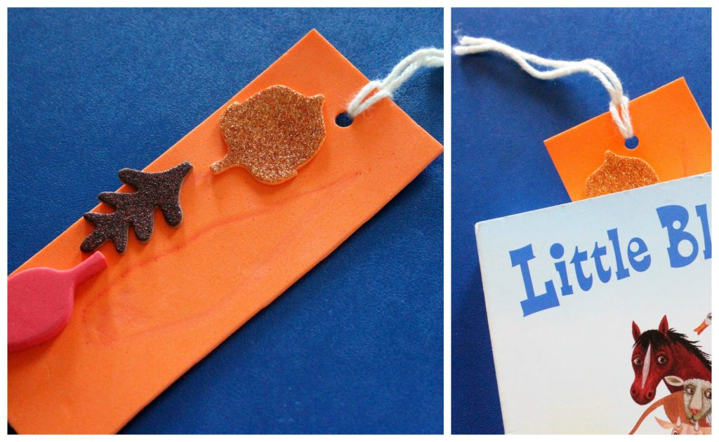 Fall Bookmark